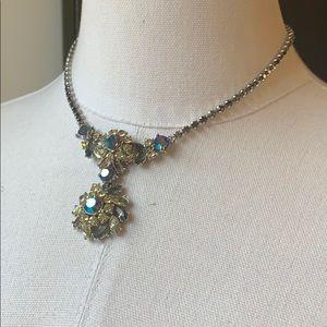 TRIFARI 1950's Austrian Crystal Necklace